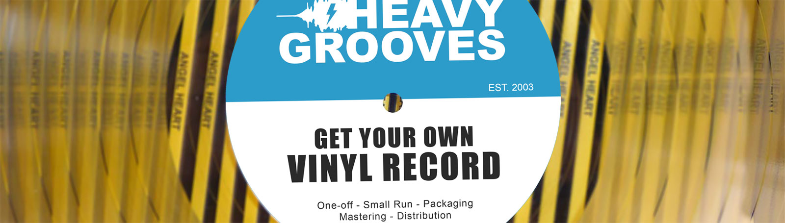 Custom vinyl record pressing